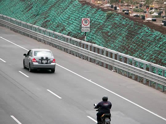 baranda de seguridad vial