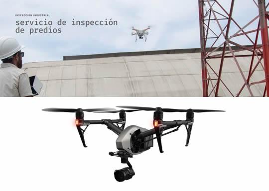 inspeccion tecnica con drones